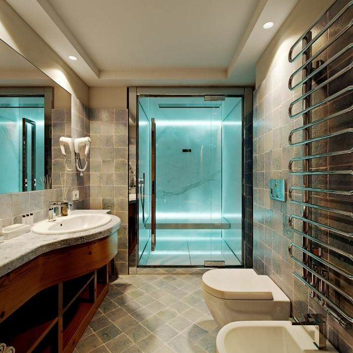 Hotel Cortina Wellness Suite - steam bath (A scelta)